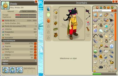 Changement dans la guilde, stuff et skill