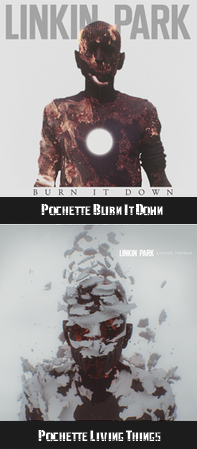 BURN IT DOWN : Nouveau Single ~ Living Things : Nouvel Album ~ Tracklist & Cover