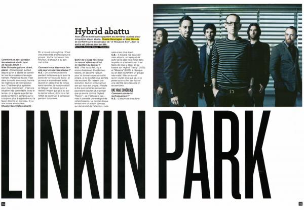 """Quiz """"Connaissez-vous Linkin Park ? """" par MusiqueMag & Interview par MyRockMagazine"""