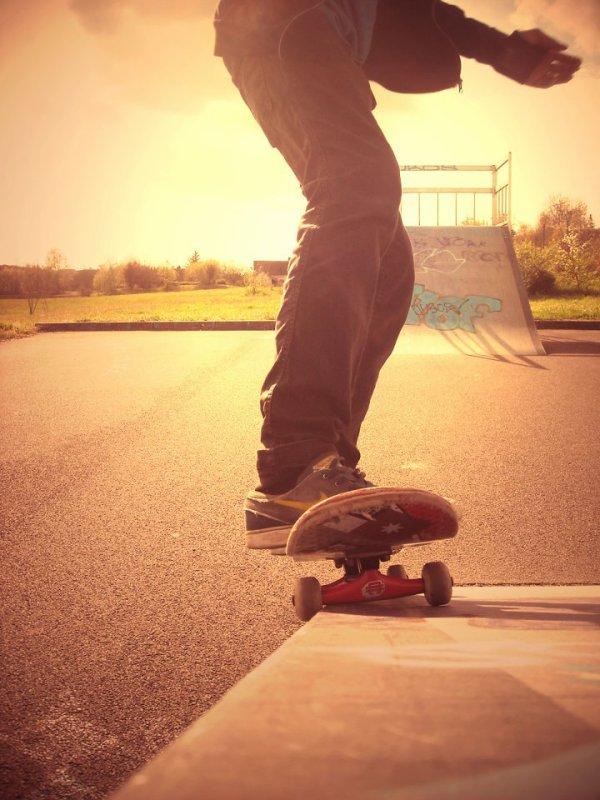 Une vie, un skate.