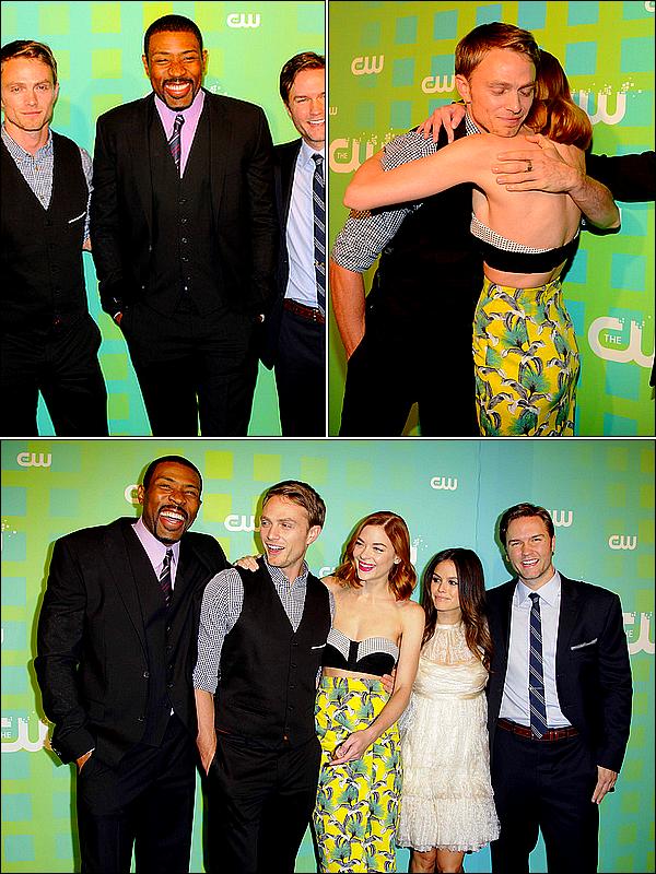 . Le 17 Mai 2012 Wilson et l'ensemble du cast de la série Hart Of Dixie présent aux Upfronts de la CW !