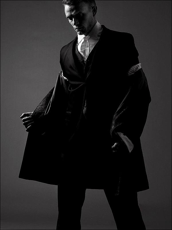 """. Stephen Wilson pour le blog mode """"Contentmode"""" datant de Juillet 2012 ♥"""