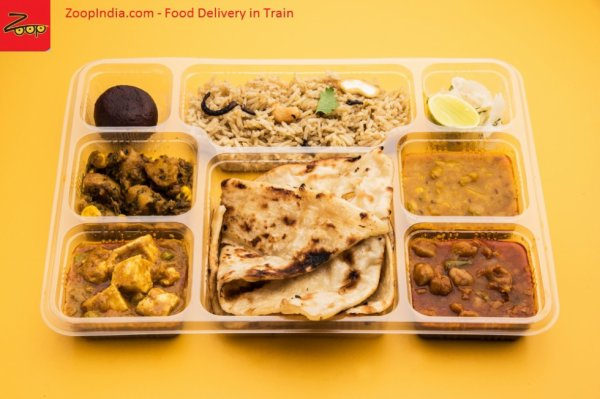 Ordering your meals for delivery on Trains in India