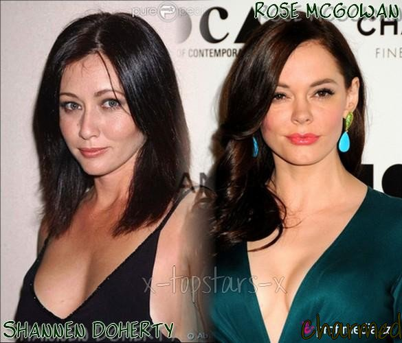 ........Shannen Doherty vs Rose McGowan #3
