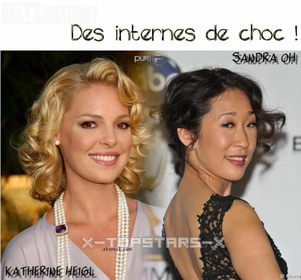 .....Katherine Heigl vs Sandra Oh#5