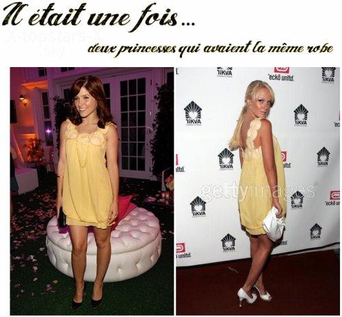 Les stars ont la même robe#11