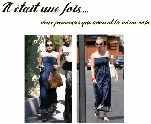 Les stars ont la même robe#12