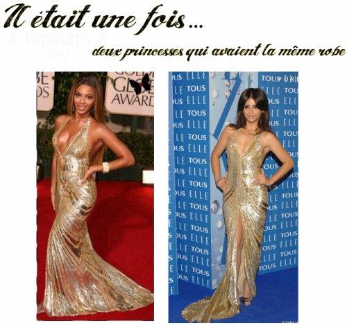 Même robe de stars#14