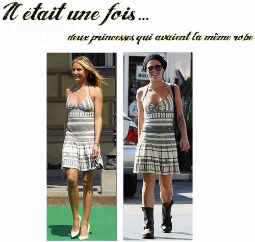 Même robe de stars#15