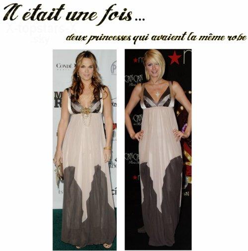 Même robe de stars#18