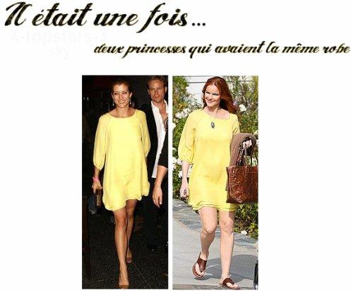 Même robe de stars #19