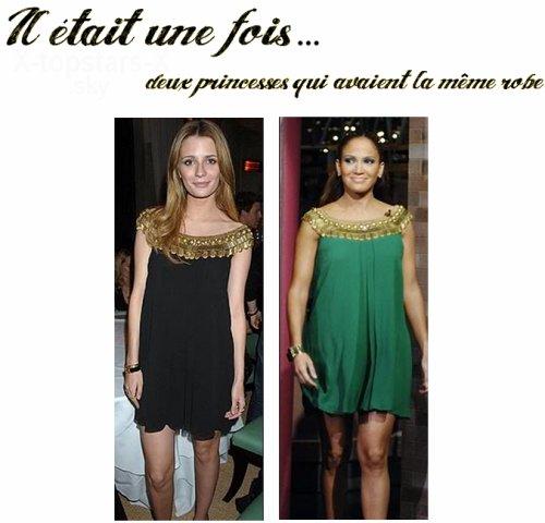 Même robe de stars #20