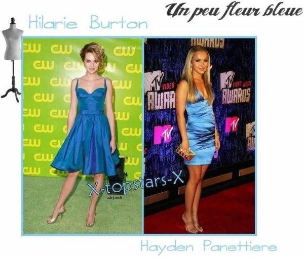 ......Hilarie Burton vs Hayden Panettiere #24