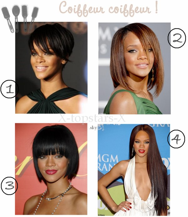 COIFFURE Rihanna#31