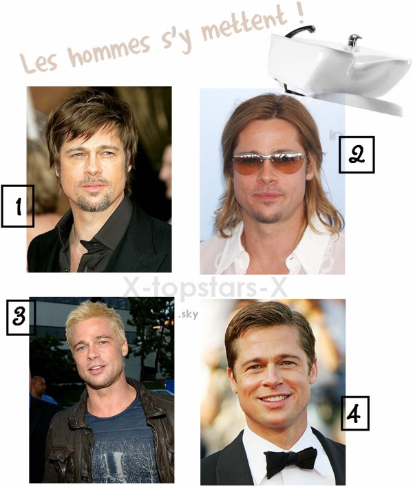 COIFFURE Brad Pitt#32