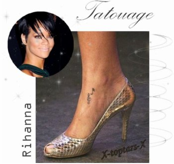 Tatouage Nicole Richie vs Rihanna#36