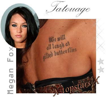 Tatouage Megan Fox vs Victoria Beckham#37