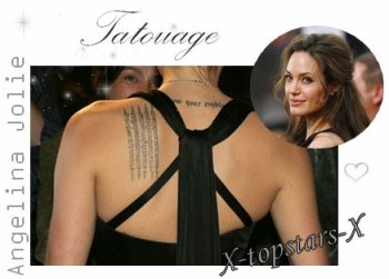 Tatouage Alyssa Milano vs Angelina Jolie#38