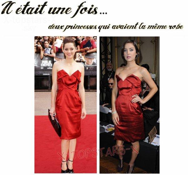 Même robe de stars #111
