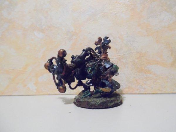 Big Mek Ork avec Kanon Shokk