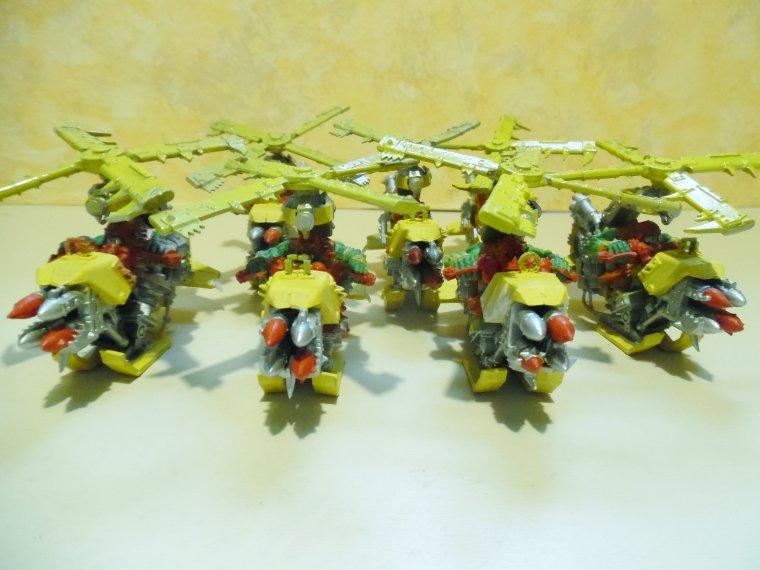 7 Kopter du clan BAD MOON