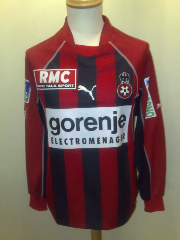 Maillot Nice Home 2003-2004 / Everson