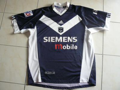 Maillot Bordeaux Home 2001-2002 / Miranda