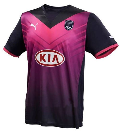 Maillot Bordeaux Third 2011-2012 / André