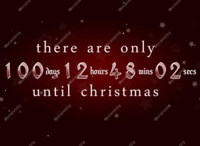 Plus que 100 jours avant Noël par Béa pour lorraineblog
