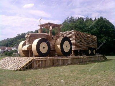 tracteur pour la St Jean par Béa pour lorraineblog