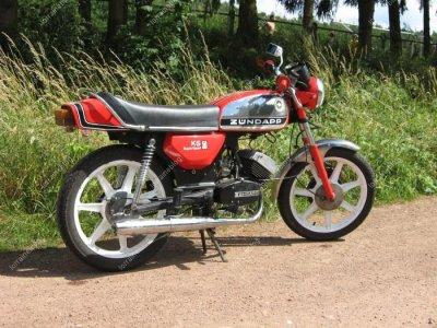 Zündapp ks50 par Béa pour lorraineblog