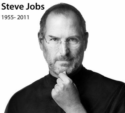 Steve Jobs, 1955-2011 par Béa pour lorraineblog