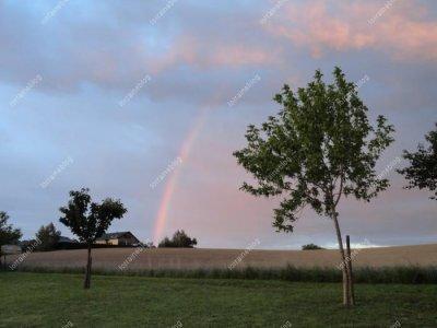 arc-en-ciel par Béa pour lorraineblog