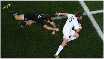 Rugby, Coupe du monde, finale : __ France-Nouvvelle-Zélande __ vu par Béa pour lorraineblog