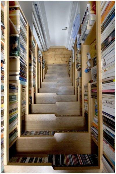 bibliothèque vu par Béa pour lorraineblog