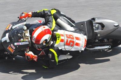 Le monde de la moto est en deuil vu par Béa pour lorraine blog