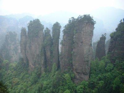 Zhangjiajie, un paysage de rêve par Béa pour lorraineblog