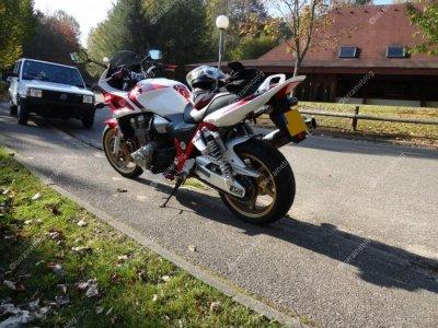 Honda CB 1300 par Béa pour lorraineblog