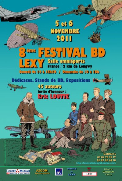 Festival de la BD à Lexy vu par Béa pour lorraineblog