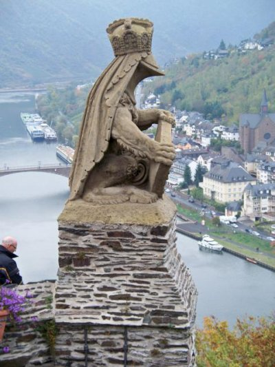 Le Château de Cochem par Béa pour lorraineblog