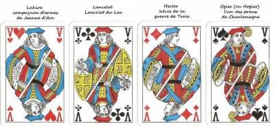 Carte à jouer -Réponse- vu par Béa pour lorraineblog