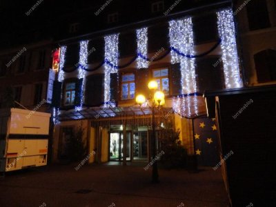 Sarreguemines, illuminations de Noël vu par Béa pour lorraineblog