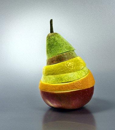Salade de fruits vu par béa pour lorraineblog