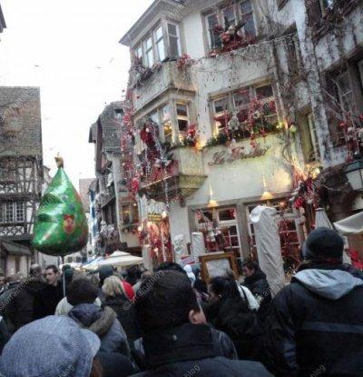 Marché de Noël de Strasbourg vu par Béa pour lorraineblog