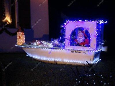 quelques maisons illuminées pour Noël vu par Béa pour lorraineblog