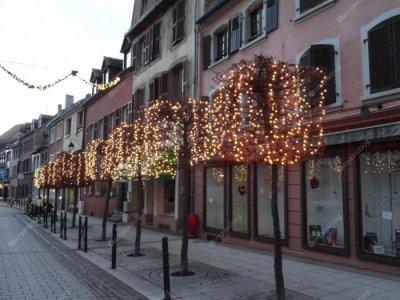 Sarreguemines, illuminations de Noël -suite- vu par Béa pour lorraineblog