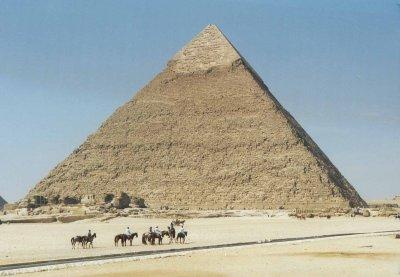 La pyramide de Khéops vu par Béa pour lorraineblog