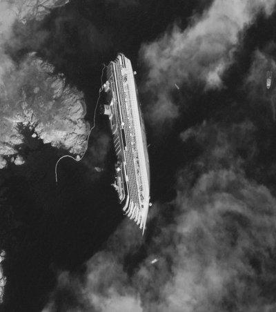 Costa Concordia vu par Béa pour lorraineblog
