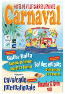 Carnaval 2012 à Sarreguemines vu par Béa pour lorraineblog