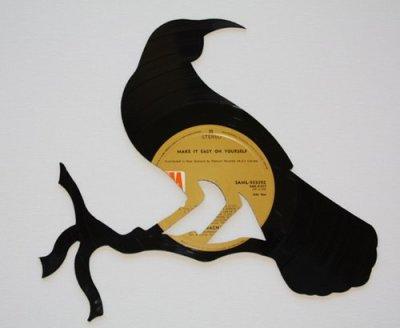 Disque vinyle vu par Béa pour lorraineblog
